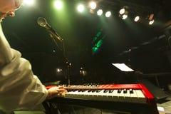 De Souled actuación en directo hacia fuera (banda) en el partido de cierre 56.o Thessal Imagen de archivo libre de regalías