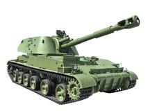De sovjet gemotoriseerde houwitser van 152 mm deel Royalty-vrije Stock Afbeeldingen