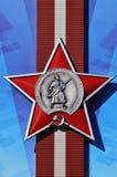 De sovjet Rode orde van de Ster Stock Foto
