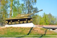-3 - De sovjet zware periode van de tankontwikkeling van de Grote Patriottische Oorlog Royalty-vrije Stock Afbeelding