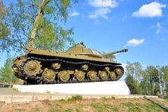 -3 - De sovjet zware periode van de tankontwikkeling van de Grote Patriottische Oorlog Stock Afbeeldingen