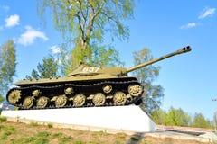 -3 - De sovjet zware periode van de tankontwikkeling van de Grote Patriottische Oorlog Royalty-vrije Stock Foto