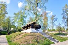 -3 - De sovjet zware periode van de tankontwikkeling van de Grote Patriottische Oorlog Stock Foto's