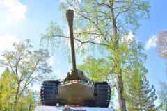 -3 - De sovjet zware periode van de tankontwikkeling van de Grote Patriottische Oorlog Stock Foto