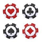De spaander van het casino Stock Foto's