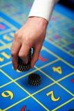 De spaander van het casino Stock Afbeelding