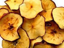 De spaanders van de appel Stock Foto's