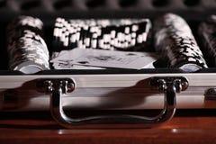 De spaanders van de gok stock fotografie