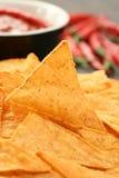 De spaanders van de tortilla Royalty-vrije Stock Afbeelding