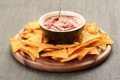 De spaanders van de tortilla Stock Afbeelding