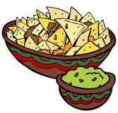 De Spaanders van de Tortilla van Nachos vector illustratie