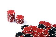 De spaanders van het casino Stock Foto