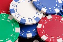 De spaanders van het casino Royalty-vrije Stock Fotografie
