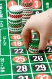 De spaanders van het casino Royalty-vrije Stock Foto