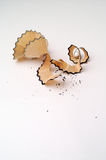 De spaandersverticaal van het potlood Stock Foto's