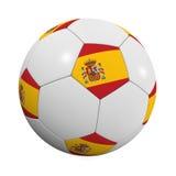 De Spaanse Bal van het Voetbal royalty-vrije illustratie