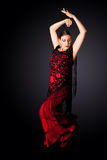 De Spaanse danser van Paso Doble Royalty-vrije Stock Fotografie