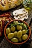 De Spaanse olijven van reuzen royalty-vrije stock afbeelding