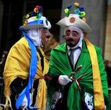 De Spaanse Parade van de Dag in New York Stock Foto's