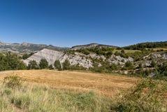 De Spaanse Pyreneeën stock afbeeldingen