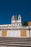 De Spaanse Stappen, die van Piazza Di Spagna in R worden gezien Stock Foto's