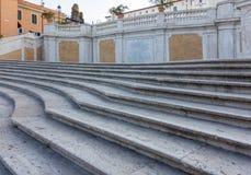 De Spaanse Stappen in Rome, Italië Royalty-vrije Stock Foto