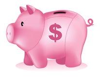 De spaarpot van het spaarvarken Royalty-vrije Stock Afbeeldingen