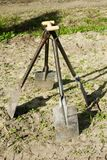 De spades van de tuin Royalty-vrije Stock Foto