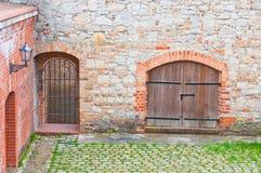 De Spandau-Citadel Royalty-vrije Stock Foto's