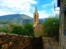 De spanska pyreneesna royaltyfri foto