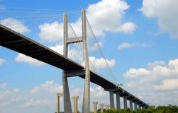De Spanwijdte van de brug royalty-vrije stock foto's