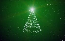 De spar van Kerstmis Stock Afbeeldingen