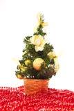 De sparappel van Kerstmisballen Stock Foto