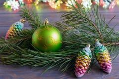 De spartak van Kerstmisballen Royalty-vrije Stock Foto's