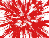De Spat van het bloed Stock Fotografie