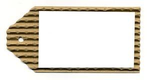 De spatie plooide de Lange Ruimte van de Markering w/White Royalty-vrije Stock Afbeeldingen