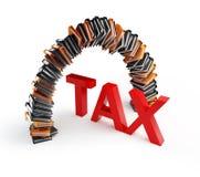 De spatie van de belasting stock illustratie