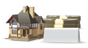 De spatie van het huis Royalty-vrije Stock Afbeelding