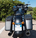 De speciale achtermening van Harley Davidson Road Glide royalty-vrije stock foto's