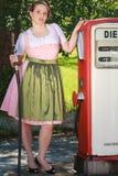 De speciale dienst bij het benzinestation Royalty-vrije Stock Foto's