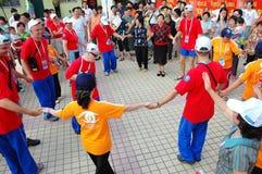 De speciale olympics spelen Shanghai 2007 van de wereldzomer Royalty-vrije Stock Fotografie