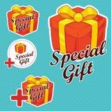 De speciale Stickers van de Gift Royalty-vrije Stock Foto's