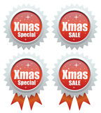 De speciale verkoop van Kerstmis Stock Foto