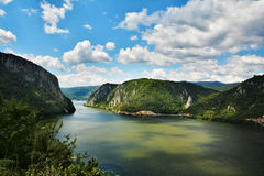 De spectaculaire Kloven van Donau Stock Afbeelding