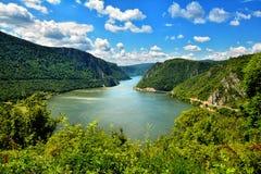 De spectaculaire Kloven van Donau Stock Foto