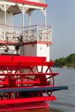 De Speculant van de Peddel van de Stoomboot van de rivier Royalty-vrije Stock Afbeelding