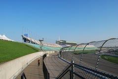 De Speedwaybaan van Kansas Stock Foto