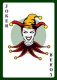 De speelkaart van de joker Stock Fotografie