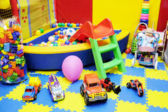 De speelkamer van kinderen royalty-vrije stock afbeelding