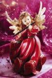 De speelmuziek van de Kerstmisengel royalty-vrije stock afbeeldingen